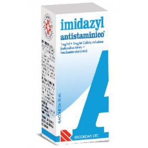 IMIDAZYL ANTISTAMINICO 1 MG/ML + 1 MG/ML COLLIRIO, SOLUZIONE 1 FLACONE 10 ML