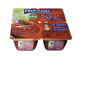 PROVAMEL SOYA DESSERT CHOCO 4 X 125 G