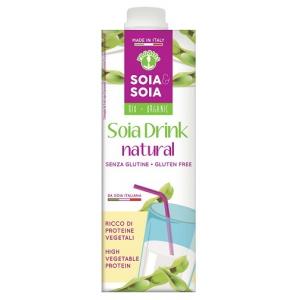 SOIA&SOIA BEVANDA SOIA AL NATURALE 1 LT