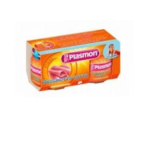 PLASMON OMOGENEIZZATO PROSCIUTTO COTTO 4 X 80 G