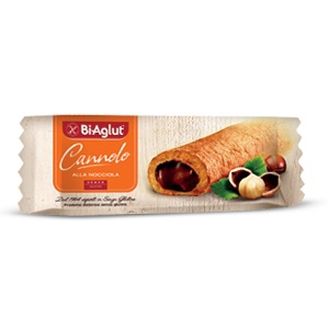 BIAGLUT CANNOLO ALLE NOCCIOLE 25 G