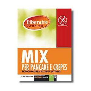 LIBERAIRE MIX PANCAKE/CREPES SENZA GLUTINE E SENZA LATTOSIO BIO 450 G