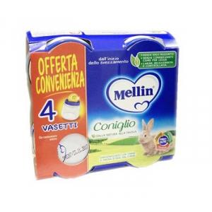 MELLIN OMOGENEIZZATO CONIGLIO 4X80 G