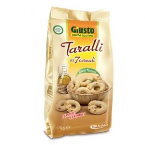 GIUSTO SENZA GLUTINE TARALLI 175 G