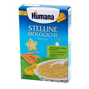 HUMANA STELLINE PASTINA BIOLOGICA 320 G