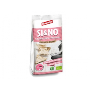 BIO SI&NO MINI GALLETTE DI GRANO SARACENO QUINOA AMARANTO PINK IS GOOD 80 G