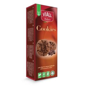 VIALL BAKERY COOKIES CACAO 120 G SENZA UOVA