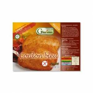 CORDON BLEU DI POLLO COTTO SURGELATO 320 G