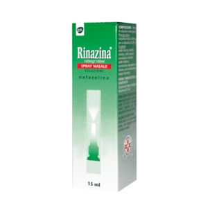 RINAZINA 100 MG/100 ML SPRAY NASALE, SOLUZIONE  FLACONE 15 ML
