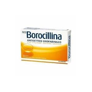 NEOBOROCILLINA ANTISETTICO OROFARINGEO 6,4 MG + 52 MG PASTIGLIE GUSTO ARANCIA 20 PASTIGLIE