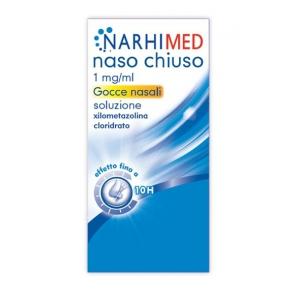 NARHIMED NASO CHIUSO 1 MG/ML GOCCE NASALI SOLUZIONE ADULTI 1 FLACONE DA 10 ML