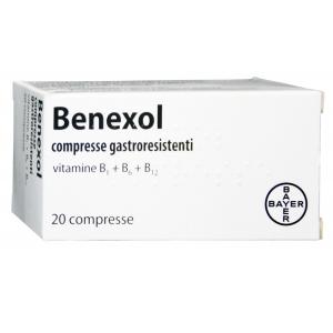 BENEXOL COMPRESSE GASTRORESISTENTI, 20 COMPRESSE IN FLACONE HDPE