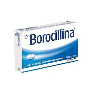 NEOBOROCILLINA 1,2 MG + 20 MG PASTIGLIE 20 PASTIGLIE IN BLISTER PVC-PE-PVDC/AL