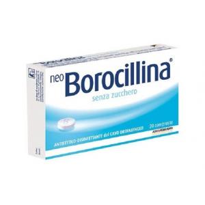 NEOBOROCILLINA 1,2 MG + 20 MG PASTIGLIE SENZA ZUCCHERO 20 PASTIGLIE IN BLISTER PVC-PE-PVDC/AL