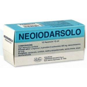 NEOIODARSOLO 10 FLACONCINI ORALI 15 ML