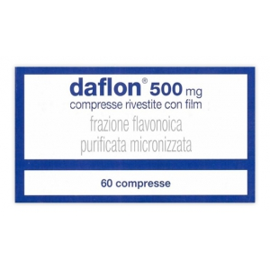 DAFLON 500 MG COMPRESSE RIVESTITE CON FILM 60 COMPRESSE