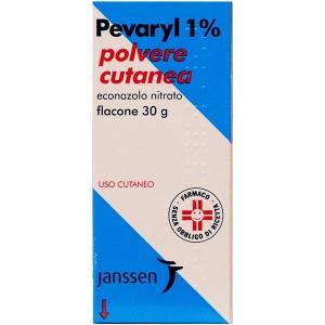 PEVARYL 1% POLVERE CUTANEA FLACONE 30 G