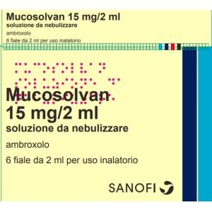 MUCOSOLVAN 15 MG/2ML SOLUZIONE DA NEBULIZZARE 6 FIALE 2 ML