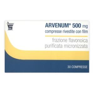 ARVENUM 500 500 MG COMPRESSE RIVESTITE CON FILM 30 COMPRESSE
