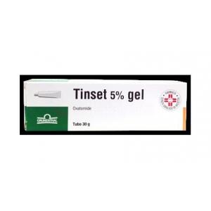 TINSET 5% GEL TUBO 30 G