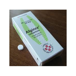 ALGINOR 50 MG COMPRESSE 20 COMPRESSE
