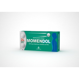 MOMENDOL 220 MG COMPRESSE RIVESTITE CON FILM 24 COMPRESSE