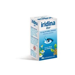 IRIDINA DUE 0,5 MG/ML COLLIRIO, SOLUZIONE FLACONE 10 ML