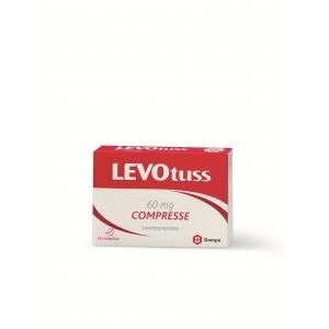 LEVOTUSS 60 MG COMPRESSE 20 COMPRESSE