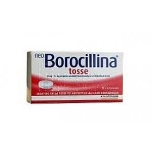 NEOBOROCILLINA TOSSE 10 MG + 1,2 MG PASTIGLIE 20 PASTIGLIE IN BLISTER PVC-PE-PVDC/AL