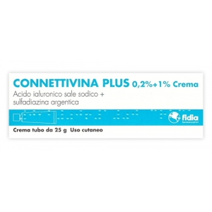 CONNETTIVINA PLUS 0,2% + 1% CREMA TUBO 25 G