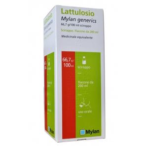 LATTULOSIO (MYLAN GENERICS) 66,7 G/100 ML SCIROPPO 1 FLACONE 200 ML