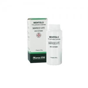 MENTOLO (MARCO VITI) 1% POLVERE CUTANEA 1 FLACONE 100 G