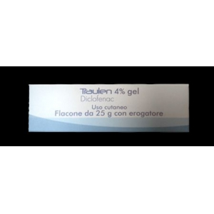 TRAULEN 4% GEL FLACONE CON EROGATORE DA 25 G