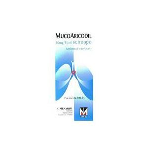 MUCOARICODIL 30 MG/10 ML SCIROPPO 1 FLACONE DA 200 ML