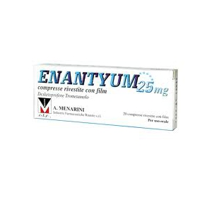 ENANTYUM 25 MG COMPRESSE RIVESTITE 20 COMPRESSE