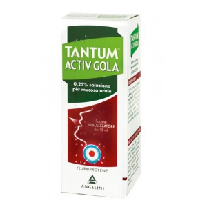TANTUM VERDE GOLA 250 MG/100 ML SPRAY PER MUCOSA ORALE  SOLUZIONE 15 ML