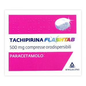 TACHIPIRINA FLASHTAB 500 MG COMPRESSE ORODISPERSIBILI 16 COMPRESSE