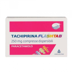TACHIPIRINA FLASHTAB 250 MG 12 COMPRESSE DISPERSIBILI