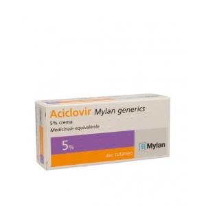 ACICLOVIR (MYLAN GENERICS) 5% CREMA TUBO 3 G