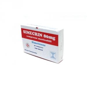 SIMECRIN 80 MG COMPRESSE MASTICABILI 30 COMPRESSE