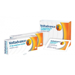 VOLTADVANCE 25 MG COMPRESSE RIVESTITE CON FILM 20 COMPRESSE