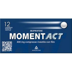 MOMENTACT 400 MG COMPRESSE RIVESTITE CON FILM 12 COMPRESSE