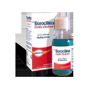 NEOBOROCILLINA GOLA DOLORE 0,25% COLLUTORIO FLACONE DA 160 ML