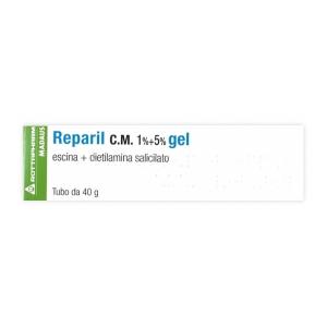 REPARIL 1% + 5%  GEL TUBO 40 G