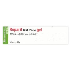 REPARIL 2% + 5%  GEL TUBO 40 G