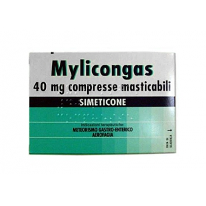 MYLICONGAS 40 MG COMPRESSE MASTICABILI 50 COMPRESSE