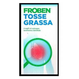 FROBEN TOSSE GRASSA 4 MG/5 ML SCIROPPO FLACONE DA 250 ML