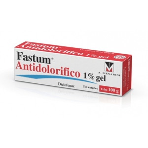 FASTUM ANTIDOLORIFICO 10 MG/G GEL TUBO IN AL DA 100 G