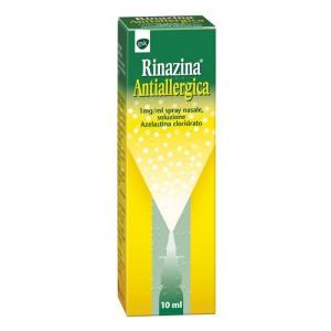 RINAZINA ANTIALLERGICA 1 MG/ML SPRAY NASALE, SOLUZIONE FLACONE CON NEBULIZZATORE DA 10 ML