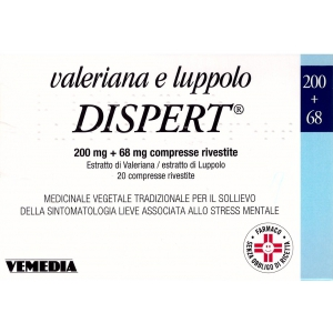 VALERIANA E LUPPOLO DISPERT COMPRESSE RIVESTITE 20 COMPRESSE IN BLISTER PVC/PVDC-AL